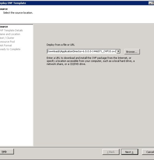 Application Director Intergration with vCAC 6.0 - Part 1- 2