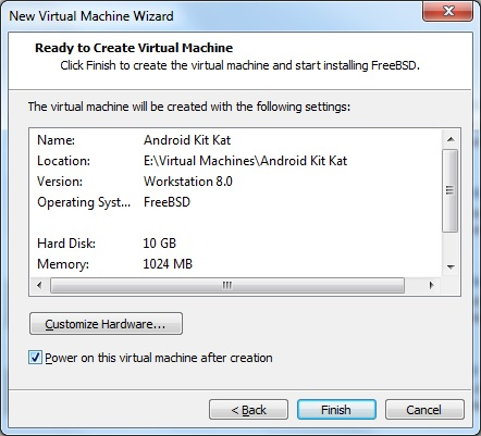 How To Run Android Kitkat on VMware Workstation 16
