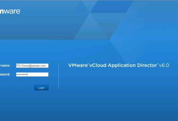 Application Director Intergration with vCAC 6.0 - 0