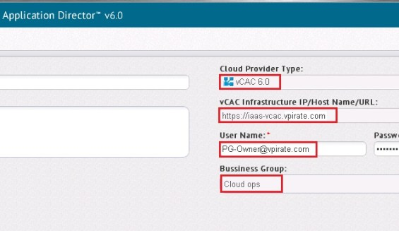 Application Director Intergration with vCAC 6.0 - 3