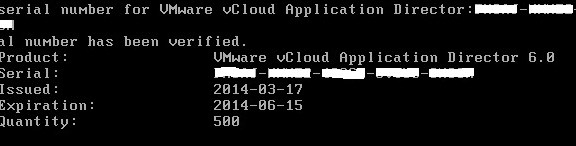 Application Director Intergration with vCAC 6.0 - Part 4- 3