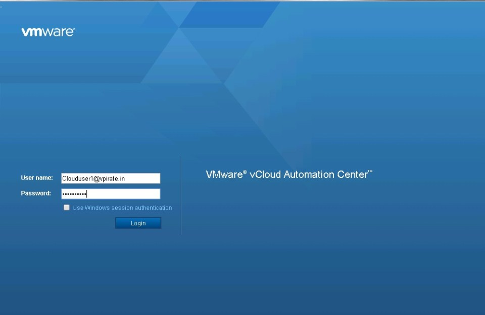 Application Director Intergration with vCAC 6.0 - Part 10 - 1