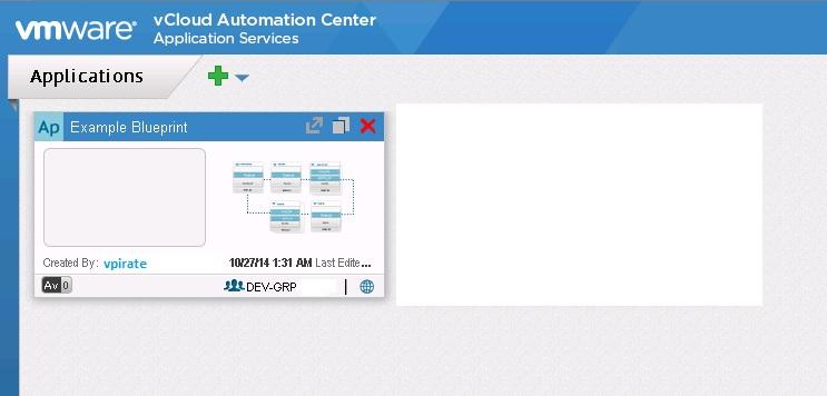 vCAC Application Services blueprint import - 4