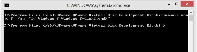 Easy way to access vSphere VMDK files offline - 4