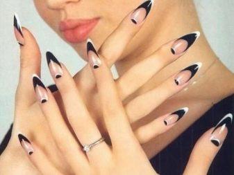 """Стилеты ногти. """"Стилет"""" (форма ногтей): техника выполнения и идеи ..."""