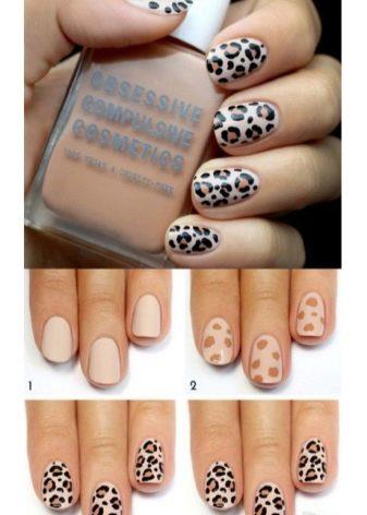 дизайн ногтей для начинающих пошагово 6