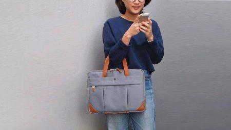 กระเป๋าสำหรับแล็ปท็อปทำด้วยตัวเอง