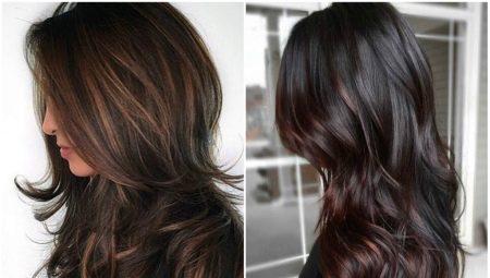 Vilken färg kan du måla mörkt hår?