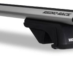 ja9142 vortex sx silver 2 bar roof rack rhino rack [ 1568 x 840 Pixel ]