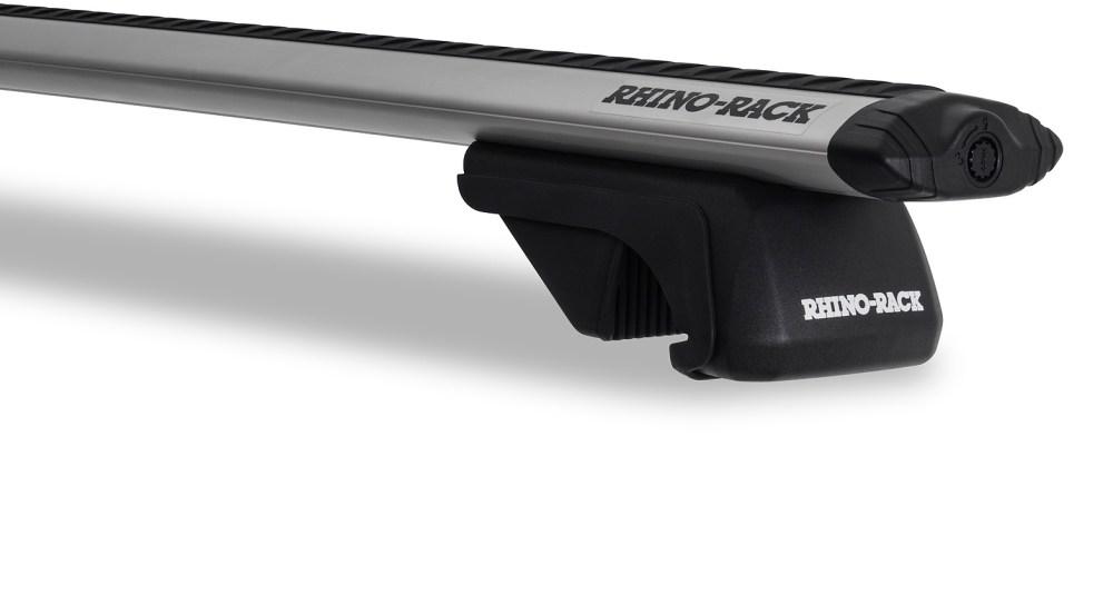 medium resolution of  ja9142 vortex sx silver 2 bar roof rack rhino rack