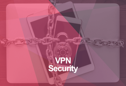 Secure internet devices with a VPN