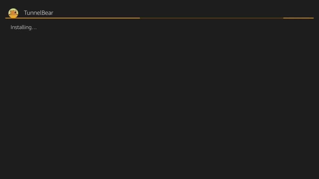 TunnelBear VPN for Firestick