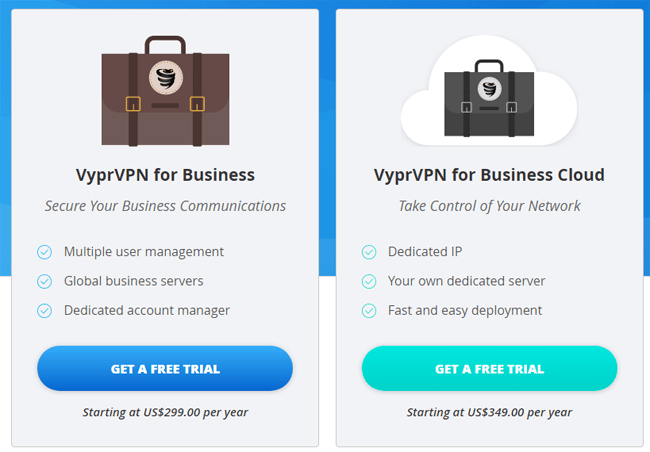 price of business vpn in VyprVPN
