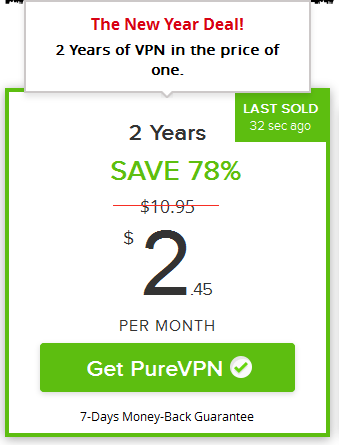 price with purevpn coupons