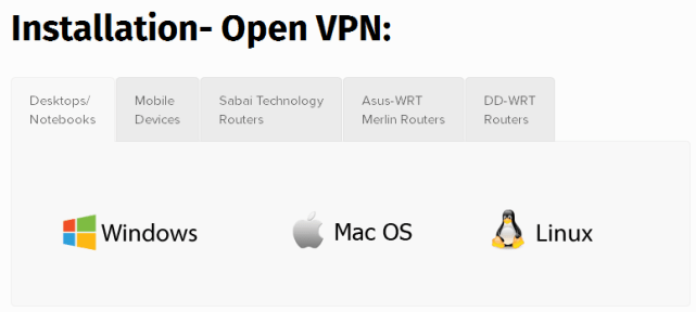 software with openvpn of bolehvpn