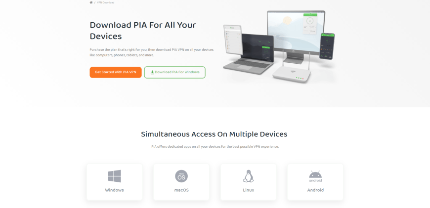 Download PIA For All Your Devices
