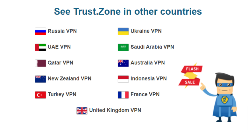 See Trust.Zone in other countries