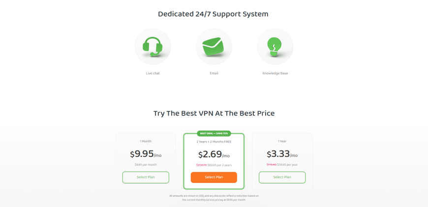 Try The Best VPN At The Best Price