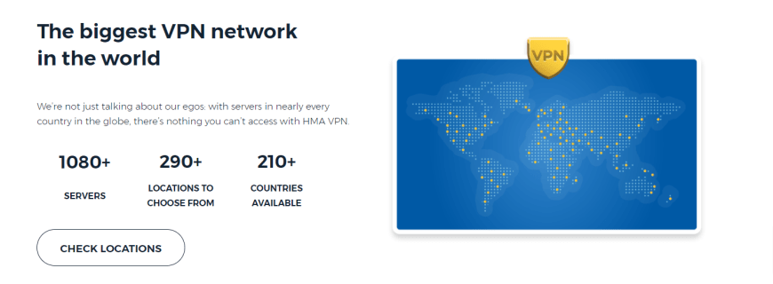 The biggest VPN network in the world