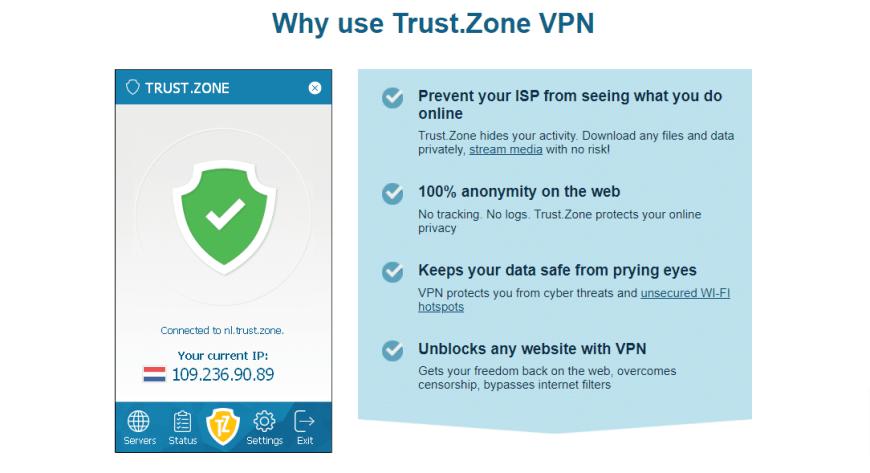 Why use Trust.Zone VPN