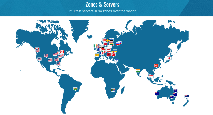 Zones Servers 210 fast servers in 94 zones over the world Trust Zone VPN 1 Anonymous VPN Stop ISP from Tracking You