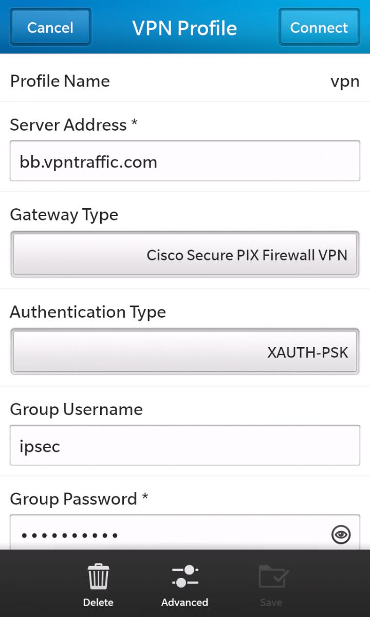 Cara Instal Bb Z10 : instal, Setting, Blackberry, Freeandroidvpn