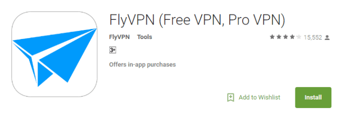 flyVPN for pc