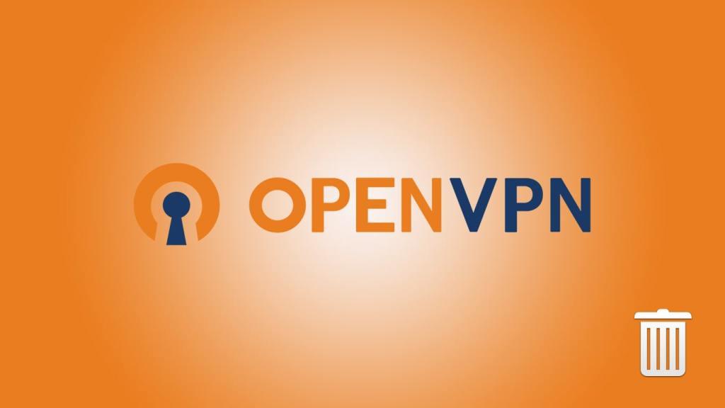Uninstall OpenVPN