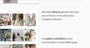 Isabella - Wedding Planner HTML Template - 1