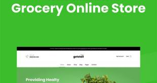 Grocery store WooCommerce Elementor template kit