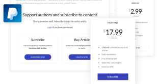 Jeg Paypal Paywall & Content Subscriptions System - WooCommerce Plugin - 1