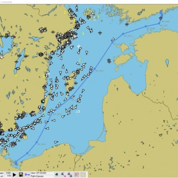 Baltic route data sharing system initiated