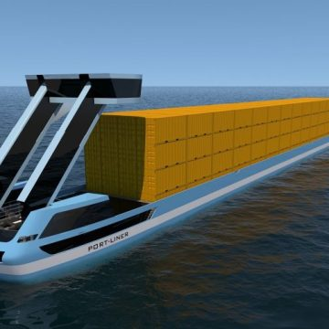 Dutch company, Port-Liner, to launch zero emissions barges