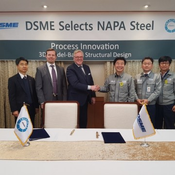 DSME to implement NAPA 3D ship design software