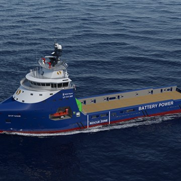 Offshore vessels to be fitted with Rolls-Royce battery packs