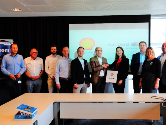 Van Oord selects Shell to provide fleet-wide lubrication services