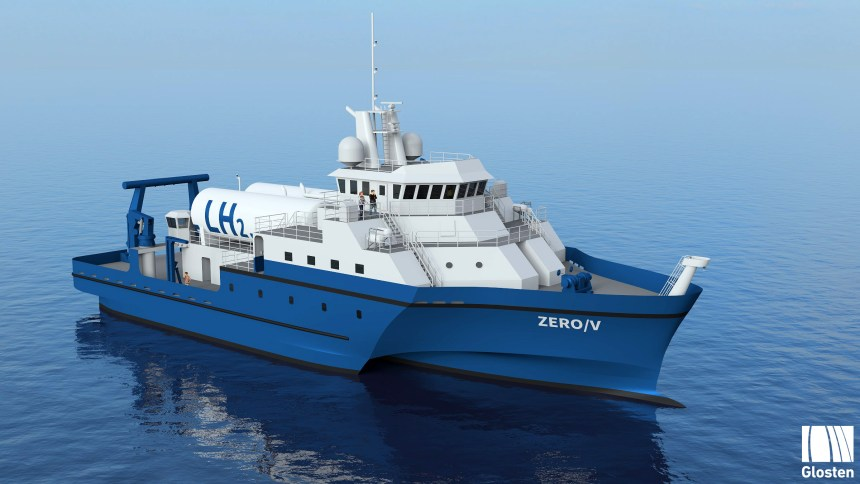 New project examines feasibility of hydrogen-powered vessel