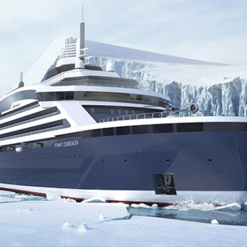 GTT to supply LNG tanks for hybrid cruise icebreaker