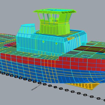 ABS and Crowley pilot 3D modelling to assist with vessel design