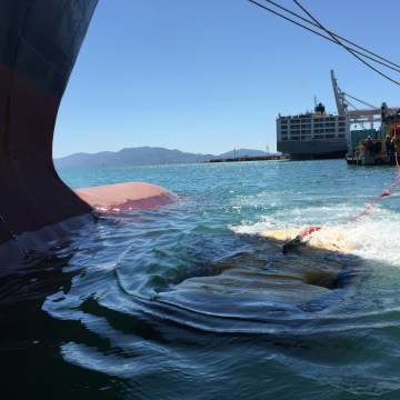 HulllWiper secures first cleans at Australian port