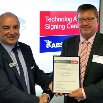 ABS grants AiP to TECHNOLOG containerised LNG system