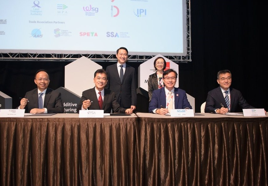 Singapore MPA signs 3D printing agreements