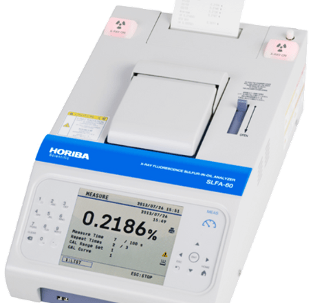 Sulphur-in-oil analyser for on-board assessment launched