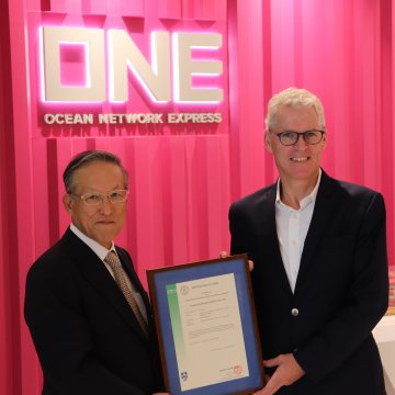 ONE joins ClassNK ISO14001 certification registry