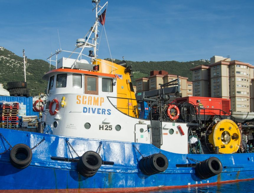 HullWiper and SCAMP to provide diver-free hull cleaning in Gibraltar