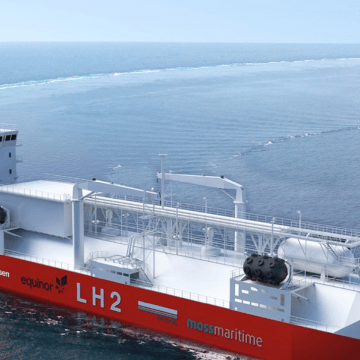 New vessel design supports liquefied hydrogen bunkering