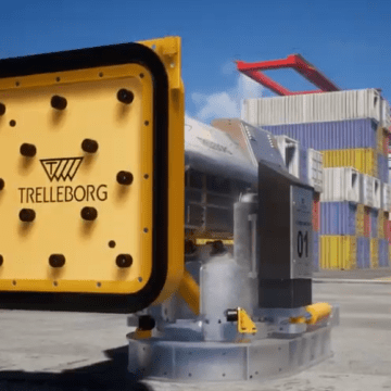 Port of Langnas optimises mooring with Trelleborg automated system