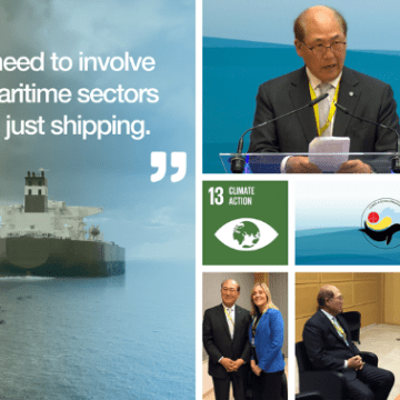 IMO Secretary-General calls on Member States for GHG reduction
