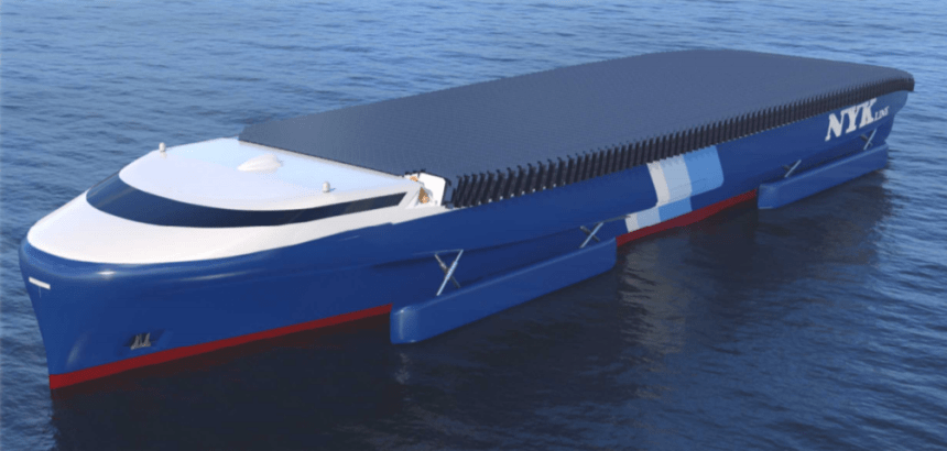 Eight low-emission vessel concept designs