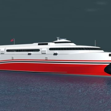 First order of Wärtsilä waterjets confirmed for high-speed ferry